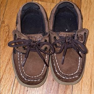 Sperry Top Sider Boys Shoes Size 7